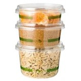 World Centric Round Deli Containers & Lids