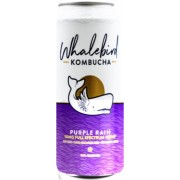 PURPLE RAIN HEMP INFUSED KOMBUCHA 12/16OZ- WHALEBIRD