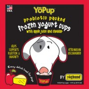 YoPup APPLE & CHEDDAR ALL NATURAL FROZEN YOGURT FOR DOGS 6/4PK