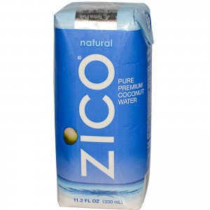 ZICO COCONUT WATER NATURAL 12 / 11.2OZ.