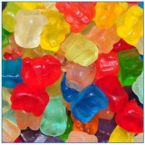 SOUR GUMMI BEARS 4/4.5LB  #18013