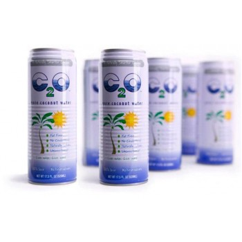 C2O PURE COCONUT WATER 12/17.5 OZ CANS