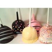 CAKE POPS CHOCOLATE WRAPPED 20 CT