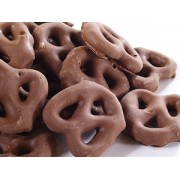 MILK CHOC COATED PRETZELS 10 LBS