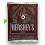 HERSHEY CHOCOLATE SYRUP, POUCH 4/64 OZ