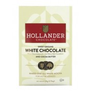 HOLLANDER 25LB SWEET GROUND WHITE CHOCOLATE 10/2.5 LB