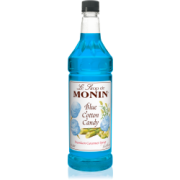BLUE COTTON CANDY FLAVOR SYRUP, 4/1 LTR- MONIN
