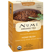 NUMI TEA, HONEYBUSH 6/18CT.
