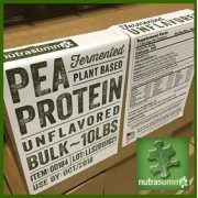 PEA PROTEIN UNFLAVORED 10LB - NUTRASUMMA #50110