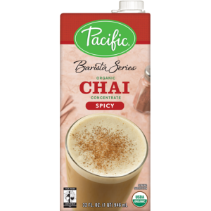 ORGANIC SPICY CHAI CONCENTRATE 12/32oz.