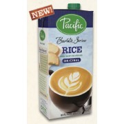 BARISTA SERIES RICE BEVERAGE ORIGINAL, 12/32 OZ- PACIFIC FOODS