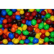 PEANUT M&M'S CHOCOLATE CANDY, 25 LB