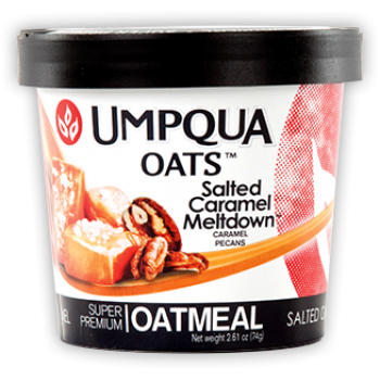 SALTED CARAMEL MELTDOWN - ALL NATURAL OATMEAL 12CT