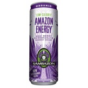 Amazon Energy Drink Low Cal 12/12oz. Sambazon