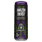 JUNGLE LOVE PASSION FRUIT ENERGY DRINK 12/12OZ - SAMBAZON