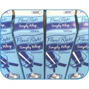 SIMPLY WHIP DESSERT TOPPING, 12/32 OZ- FLAVOR RIGHT