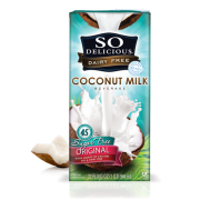SO DELICIOUS, ORGANIC COCONUT MILK  6/64OZ