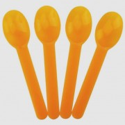 COMPOSTABLE ORANGE HEAVY WEIGHT SPOON 1000 CT