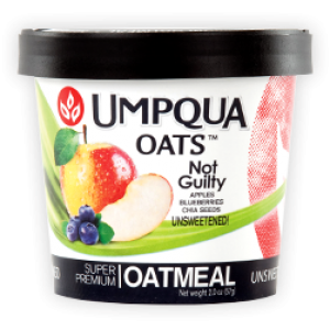Not Guilty-All Natural Oatmeal 12/2.8 Oz Cups